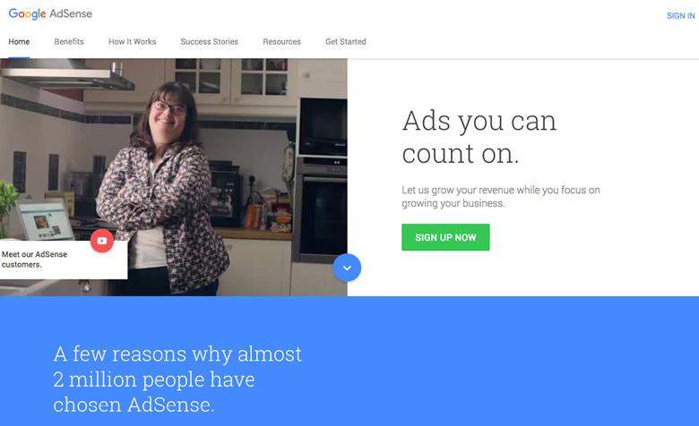 google adsense herramientas google