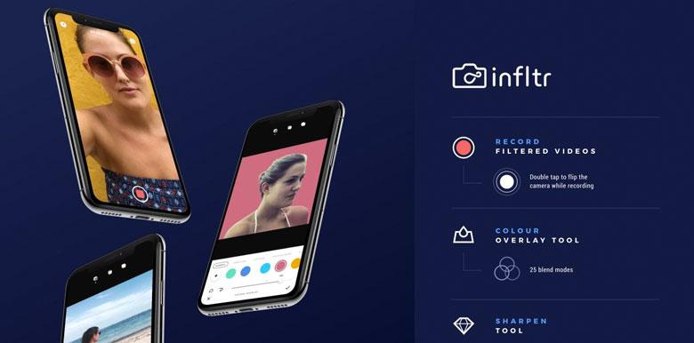 infltr aplicaciones iphone 2019