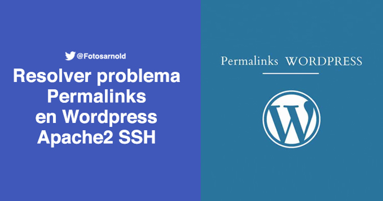 resolver problema permalinks wordpress