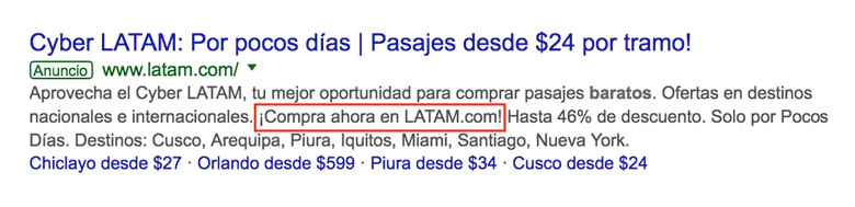 signos exclamacion interrogacion trucos google ads