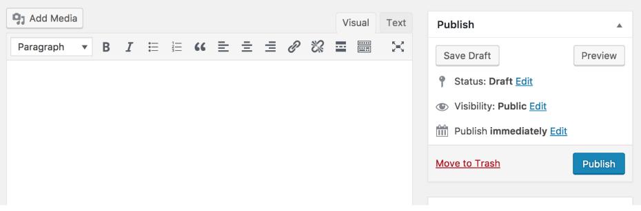 Classic editor |Wordpress