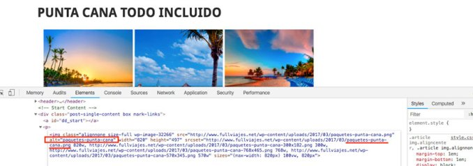 optimizacion-imagenes alt text agencias viajes