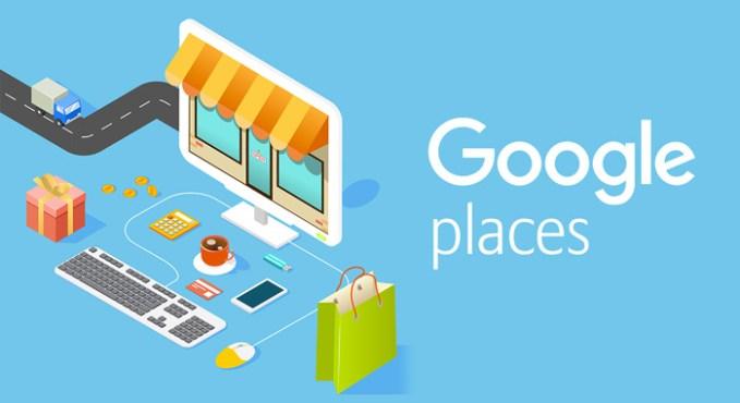 google places restaurantes locales