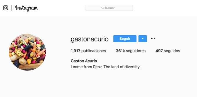 gaston acurio influencer peruano