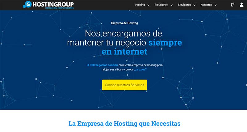 hostingroup proveedor de hosting peru