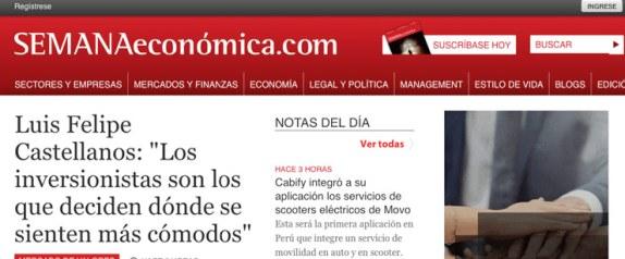 semanaeconomica portal noticias economia peru