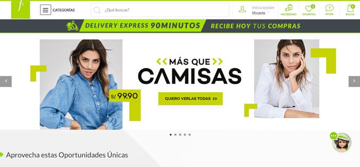 saga falabella tienda online peru