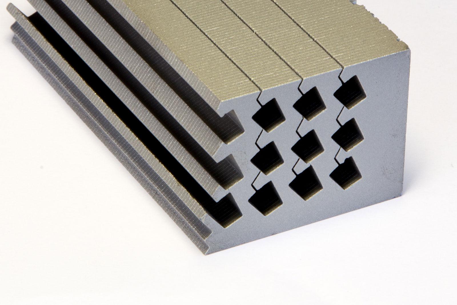 Laminated Rare Earth Magnets