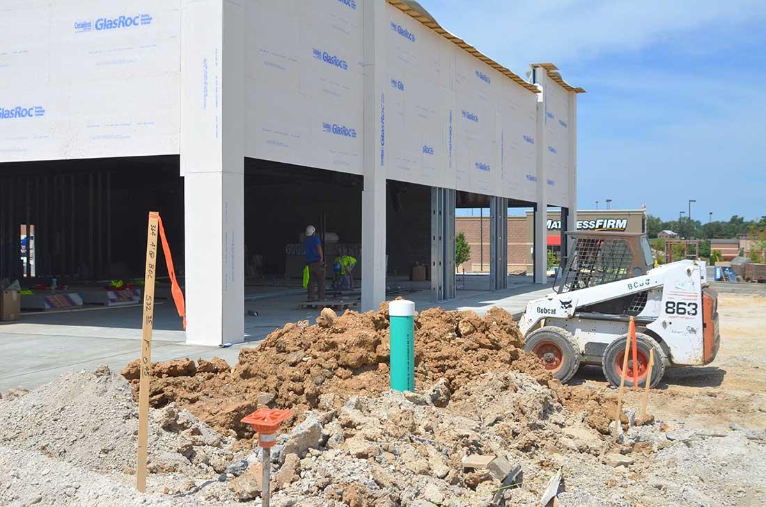 Community Development construction site