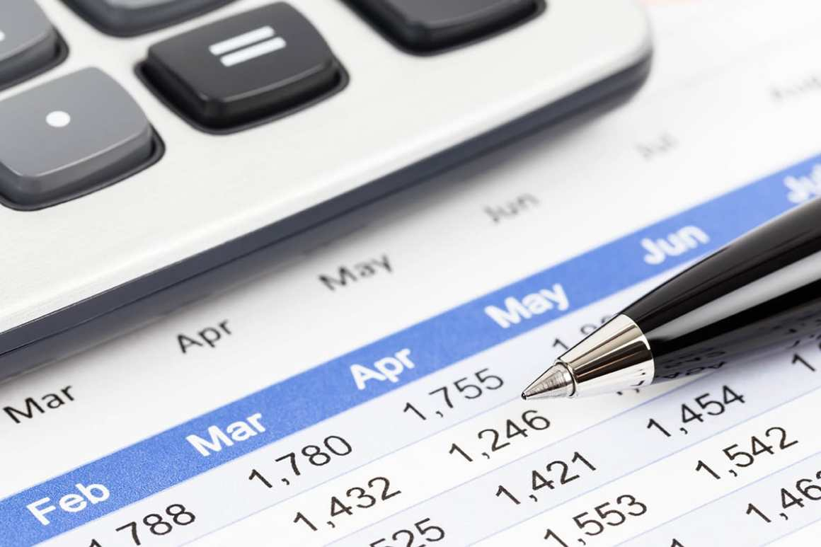 Finance report and calculator