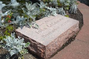 John Lecompte memorial