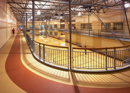 Rec Center Gymnasium