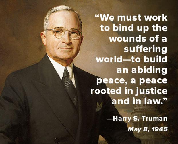 Harry S Truman quote