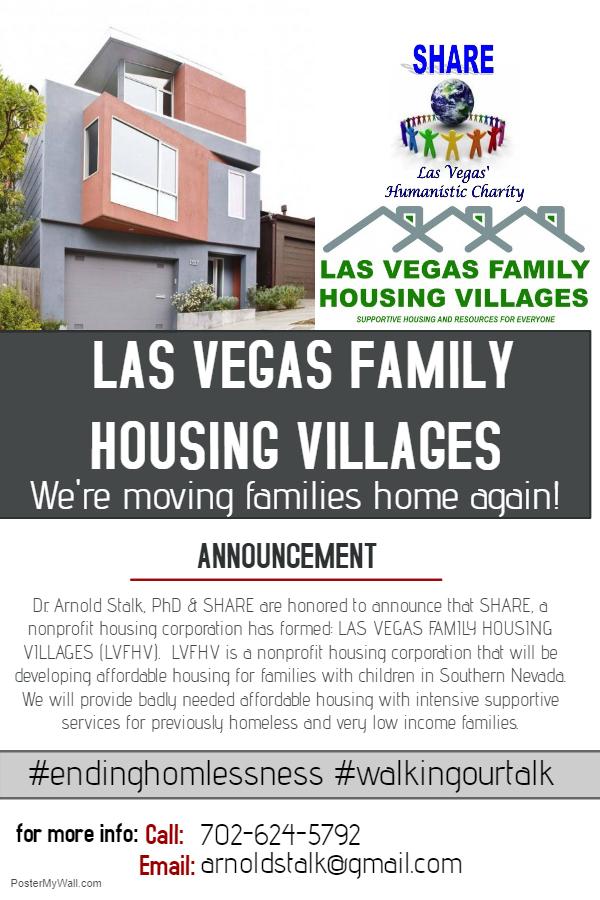 las vegas family housing villages arnold stalk phd