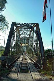 De grensovergang tussen Costa Rica en Panama