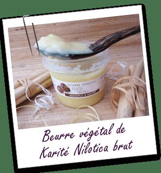 Beurre végétal Karité Nilotica Aroma-Zone