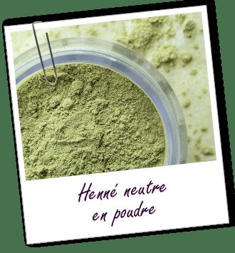 Coloration & Soin capillaire Henné neutre Aroma-Zone