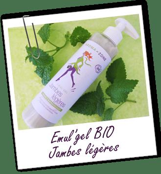 Emul'gel BIO JAMBES LÉGÈRES Aroma-Zone