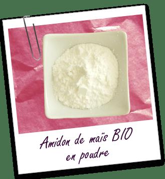 Poudre Amidon de Maïs BIO Aroma-Zone