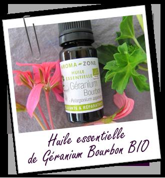 Huile essentielle Géranium Bourbon BIO Aroma-Zone