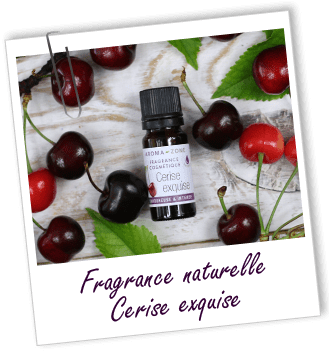 Fragrance cosmétique naturelle Cerise exquise Aroma-Zone