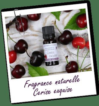 Fragrance cosmétique naturelle Cerise exquise Aroma-Zone