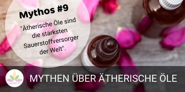 ätherische Öle als Sauerstoffversorger