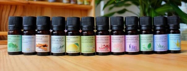 vente d'huiles essentielles bio