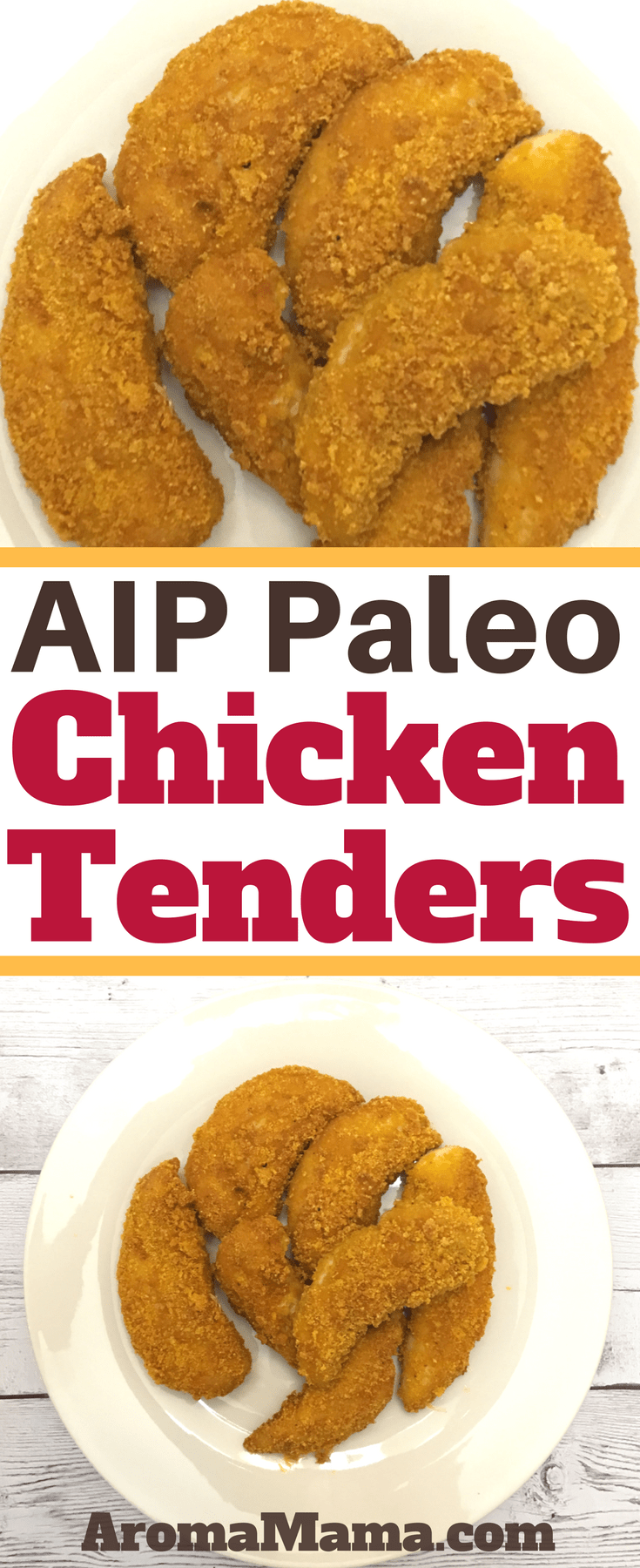 AIP Chicken Tenders are a great AIP and Paleo-friendly dinner for the whole family.When you're feeding your kids a healthy diet, they will thank you for this recipe!