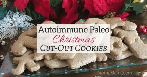 Autoimmune Paleo Christmas Cut-Out Cookies