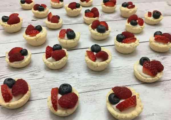 The Best Grain-Free Mini Fruit Tarts