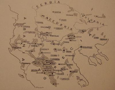 unitatea geografica a aromanilor