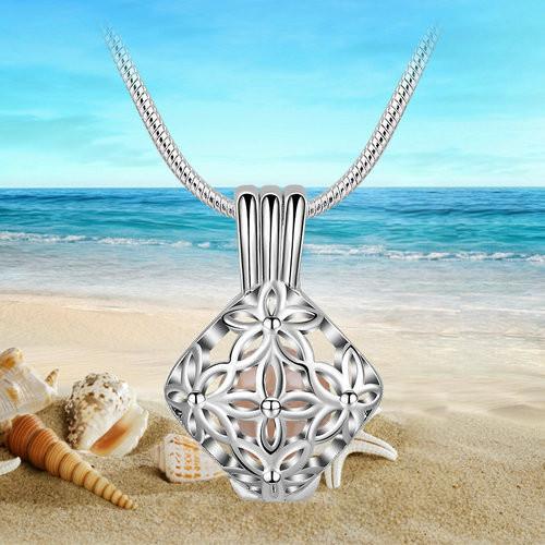 Aroma šperk lotos maly postriebrený