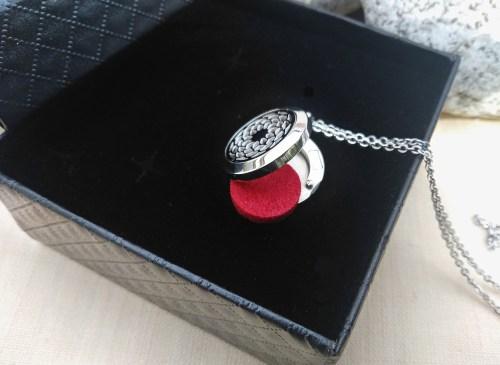 Aroma šperk kvet otvorený