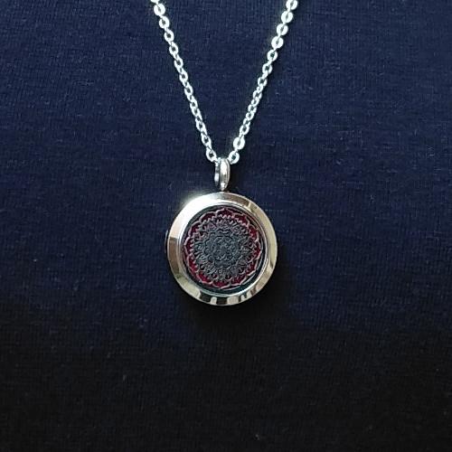 aroma šperk mandala detail
