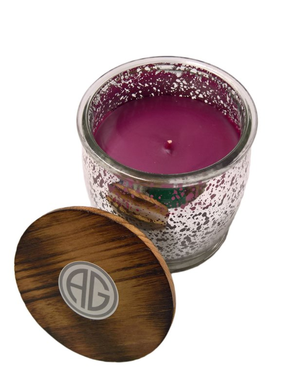 Vineyard Harvest™ Mercury Glass Jar Candle