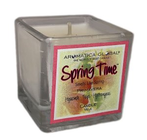 Spring Time Cube Votive