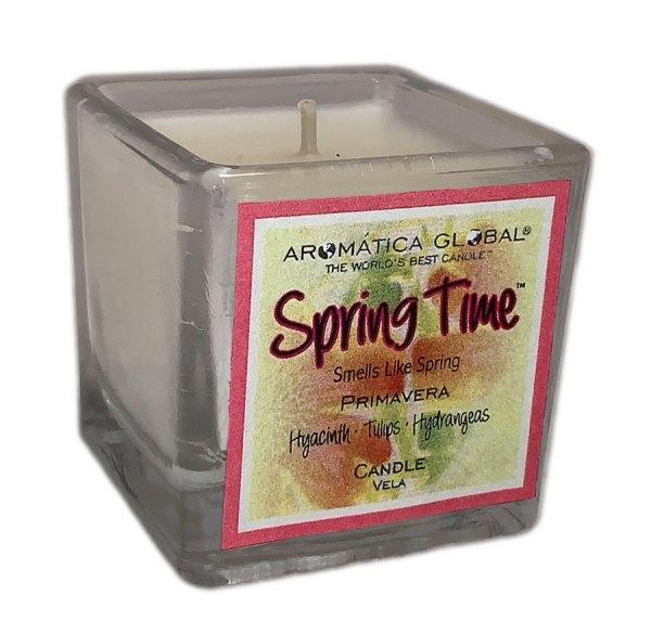 Spring Time Cube Votive