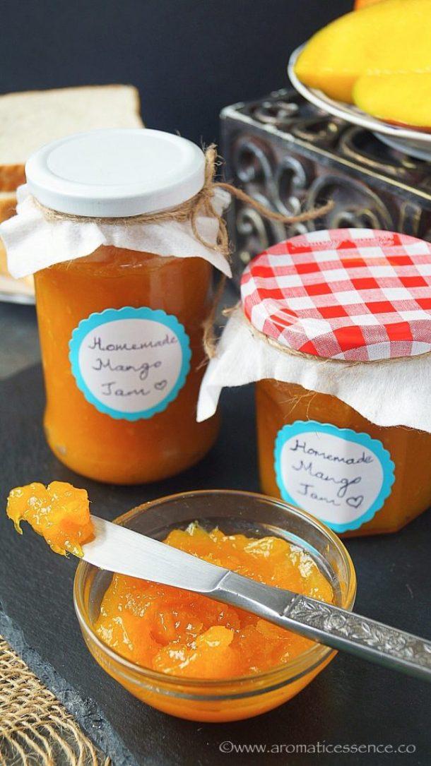 Mango Jam Recipe Without Pectin | Goan Maangad