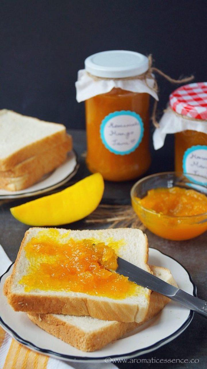 Mango Jam Recipe Without Pectin   Goan Maangad