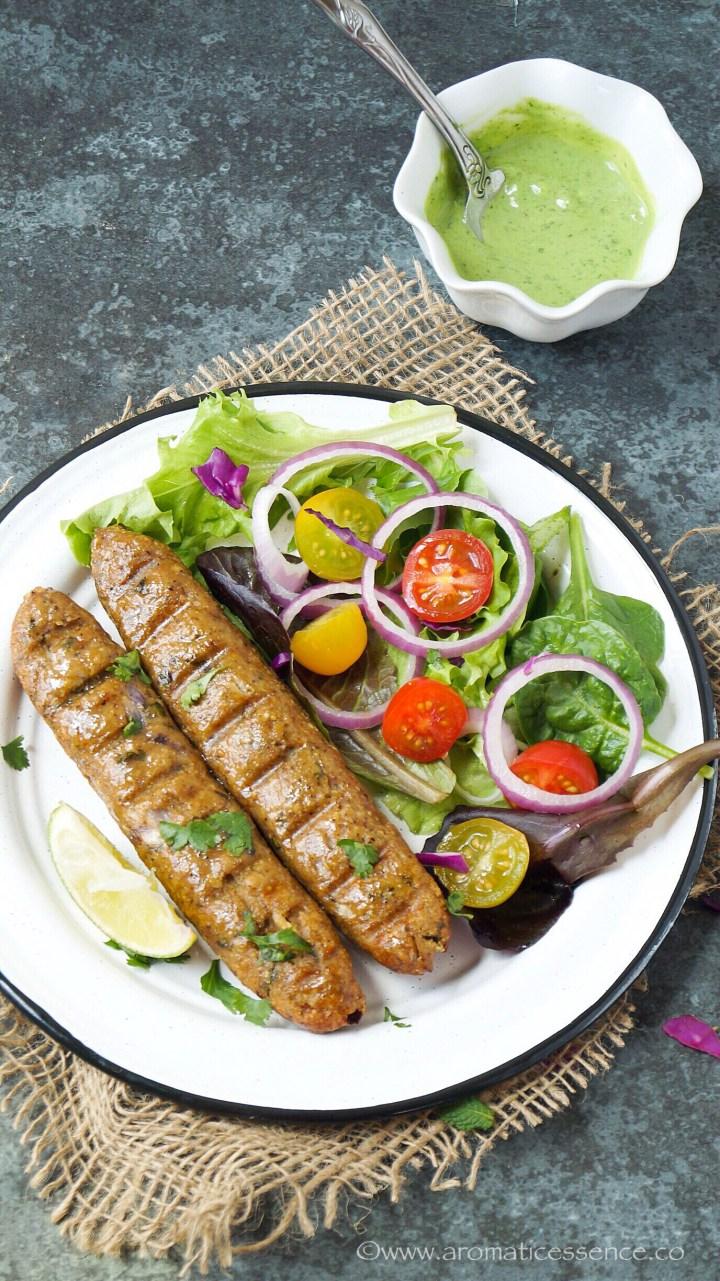 Chicken Seekh Kabab Recipe   How To Make Chicken Seekh Kebab