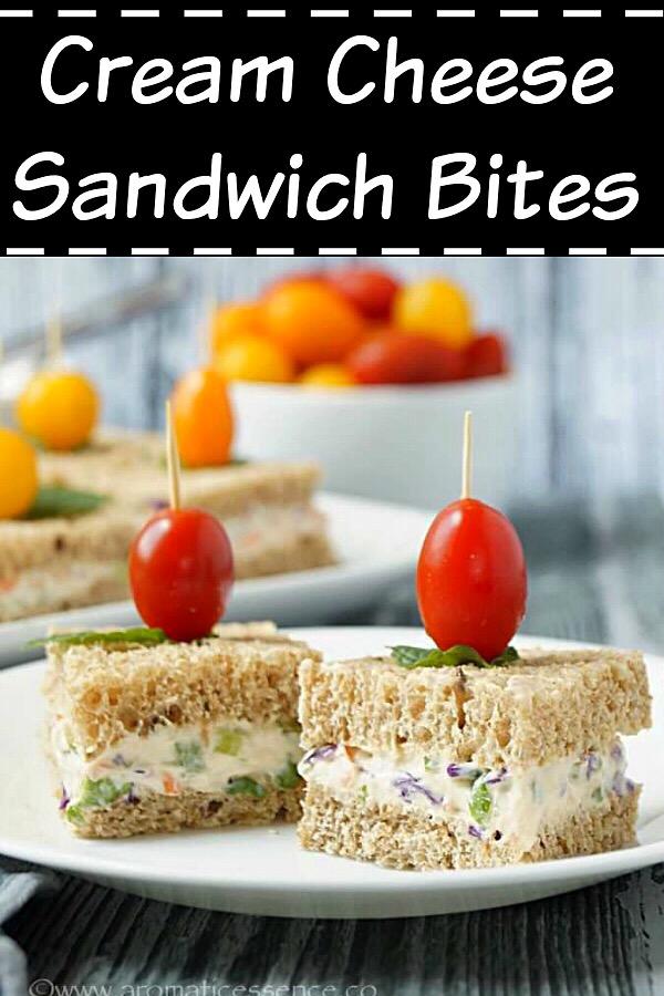 Cream Cheese Sandwich Bites
