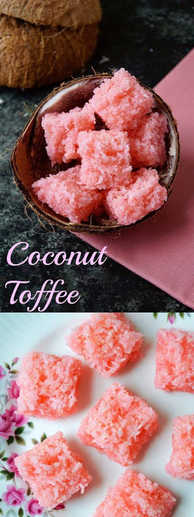 Coconut Toffee Recipe