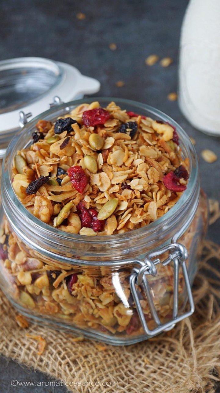 Vegan Granola Recipe | How To Make Granola