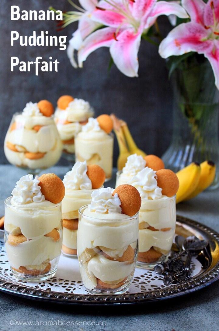 Banana Pudding Parfait Recipe | How To Make Banana Pudding
