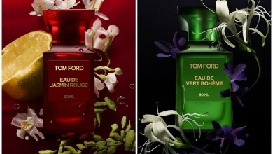 عطور جديدة من توم فورد Eau de Jasmin Rouge and Eau de Vert Boheme