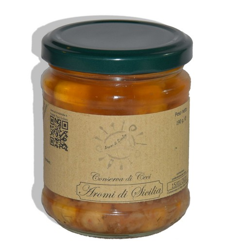 conserva di ceci - Aromi di Sicilia