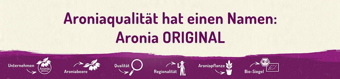 Slider: Aronia ORIGINAL Qualität