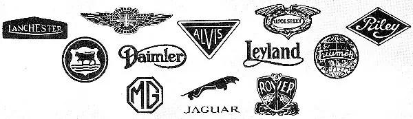 Traditional logos
