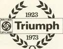 Triumph 50 years